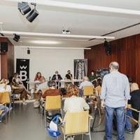 BIENAL l Rueda de prensa. Presentación del nuevo director de la Bienal, Chema Blanco © Óscar Romero