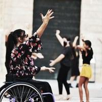 Flashmob - Pregón   Archivo Fotográfico Bienal de Flamenco © Fotógrafa: Claudia Ruiz Caro